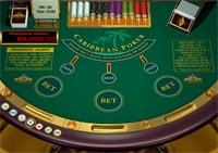Caribbean stud poker table layout gambling affiliate tips